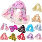 Fashion Summer Women's Butterfly Long Chiffon Scarf Wraps Shawl Scarves New