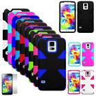 Phone Case For Samsung Galaxy S5 LTE Rugged Hard Cover Dynamic with Screen Guard