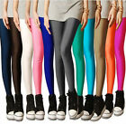 Lady Girls Personality  Fluorescent Stretchy Leggings Tight Pants/Trousers