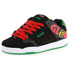 Globe Tilt Mens Suede Black Rasta Skate Trainers New Shoes All Sizes