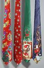 Christmas Musical Tie / SANTA / SNOWFLAKE / TREE Novelty Office Party Funny