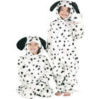 DELUXE DALMATIAN DOG FUR DRESSING UP COSTUME ALL SIZES - KIDS FANCY DRESS BOOK