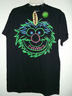 NEW Med MUPPETS T SHIRT by DISNEY ANIMAL IN GLOW  IN THE DARK GRAPHICS