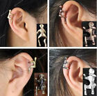 Little Men Hug Climbing Ear Cuff Wrap Earring No Piercing Punk Gothic Chic/1pc
