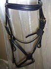 PADDED COMFORT BRIDLE GRACKLE MEXICAN NOSEBAND with REINS PONY- EXTRA FULL