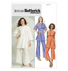 SEWING PATTERN Butterick B5048 Misses Easy PULLOVER TUNIC TOPS & PANTS