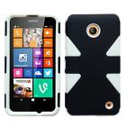 Phone Case For Nokia Lumia 635 630 Prepaid Smartphone Slim Dual-Layered Cover