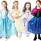 Deluxe Disney Princess Frozen & Sofia Fancy Dress Girls Childrens Childs Costume
