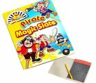 Pirate magic slate with plastic pencil 7.5x11.5cm Party filler toy FREE PP K59