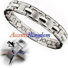 MENS SURGICAL STAINLESS STEEL MAGNETIC GOLF BRACELET J