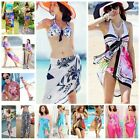 Sexy Women Chiffon Wrap Dress Sarong Beach Swimwear Cover Up Bikini Scarf