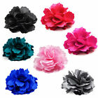 Large Wedding Bridal Rose Flower Hair Clip Headpiece Brooch Corsage Fascinator