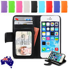 New Premium Leather Stand Card Flip Wallet Case Cover For Apple iPhone 5S 5G 5