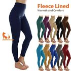 Внешний вид - Fleece Lined Legging for Women Winter Thermal Warm Full Length Legging Pants