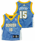 Adidas NBA Toddlers Denver Nuggets Carmelo Anthony # 15 Replica Jersey - Blue