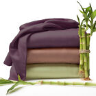 4-Piece Set: Hotel Comfort 1800 Series Organic Bamboo Bed Sheets