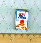 Dollhouse Miniatures  Size VINTAGE BREAKFAST Cereal box #RHB