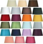 Oaks Lighting Cotton Drum Light Lamp Shade 8 inch S901/8 Rainbow Of Colours