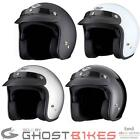 THH T-380 Plain Logo Open Face Retro Motorcycle Bike Scooter Moped Cafe Helmet