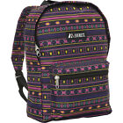 Everest Basic Pattern Backpack 32 Colors School & Day Hiking Backpack NEW
