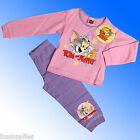 Girls Official Tom and Jerry Pyjamas Age 18 Months 1 2 3 4 Years