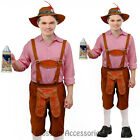 K11 Mens Bavarian Guy German Lederhosen Beer Oktoberfest Fancy Dress Costume