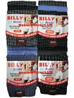 12 Mens Billy Boxer Shorts Jersey Cotton Trunks Briefs Underwear / S M L XL XXL