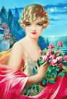 Lakeside Beauty & Roses Quilt Block Multi Sizes FrEE ShiPPinG WoRld WiDE