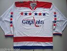 Washington Capitals White NHL Reebok Winter Classic Hockey Jersey NEW Size S