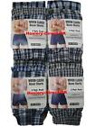 3 Mens Woven Classic Boxer Shorts Loose Fit Cotton Underwear / 3XL 4XL 5XL