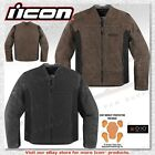 Icon 1000 Collection Oildale Textile D3O CE Armor Motorcycle Jacket