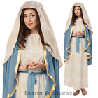 CL34 Virgin Mary Adult Religious Mother Christmas Easter Fancy Dress Costume