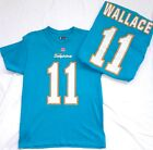 Miami Dolphins Football Mike Wallace Short Sleeve Elgible Receiver Shirt NWT