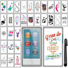 For Apple iPod Nano 7 Cute Design PATTERN HARD Protector Case Phone Cover + Pen