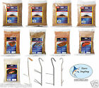 Zebco Fish/Meat Smoke Smoking Smoker Chips/Brine/Dust/Hooks/Accessories