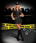Sexy Adult Halloween DreamGirl Women's Police Cop PD Officer Uniform Costume
