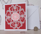 Handcrafted Lovely assorted parchment craft cards choose type and  occasion