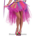 C833FN Circus Sweetie Lulus Clown Tutu Rainbow Skirt Burlesque Party