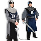 C286 Knight of the Round Table Renaissance Medieval Party Mens Adult Costume