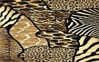 ANIMAL PRINT ZEBRA LEOPARD TIGER GIRAFFE    PLACEMATS FABRIC TOP / RUBBER BACKED