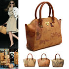 Style2030 NEW Womens Shoulder Bag Tote Satchel CrossBody Faux Leather Handbag