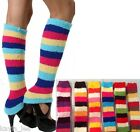 Super Soft 4 Color Chenille Dance/Exercise Sweater Knit Leg Warmers OS