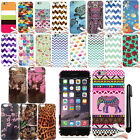 For Apple iPhone 6 6S 4.7 inch Design TPU SILICONE Rubber Case Phone Cover + Pen