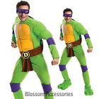 C894 Teenage Mutant Ninja Turtles Deluxe DONATELLO TMNT Fancy Adult Costume