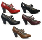Hush Puppies Lonna Mary Jane Womens Heels All Sizes And Colours New