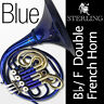 More images of BLUE Sterling Bb / F Double FRENCH HORN • Pro Quality • Brand New • FREE SHIP •