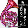 More images of PINK Sterling Bb / F Double FRENCH HORN • Pro Quality • Brand New • With Case •