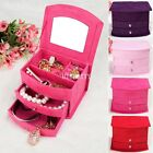 New Velvet Jewelry Jewellery Gifts Gift Storage Display Organizer Case Boxes Box