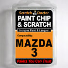 MAZDA 3 TOUCH UP PAINT Stone Chip Scratch Car Repair Kit 2005-2009