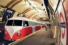New London Underground VW Camper Tube Train Poster